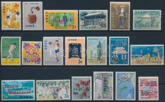 19681969 19 diff stamps, 1968-1969 19 klf bélyeg