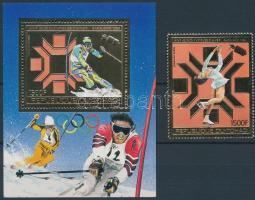 1983 Téli Olimpia, Szarajevó Mi 974 A + blokk Mi 161 A