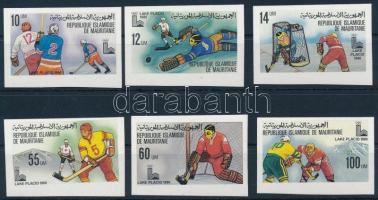 1979 Olimpia vágott sor Mi 660-665