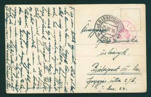 """Postcard """"K.u.K. Seeflugstation Puntisella"""" + """"MFP POLA"""" - Budapest, Képeslap """"K.u.K. Seeflugstation Puntisella"""" + """"MFP POLA"""" - Budapest"""