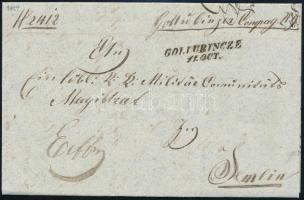 1854 Katonai ex-offo ,,GOLLUBINCZE- ,,SEMLIN