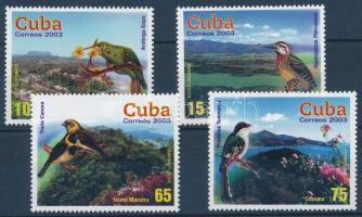 Eco-tourism; Birds & views set, Ökoturizmus; Madarak és tájak sor