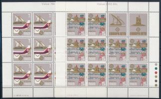 1979 Europa CEPT: Posta és távközlés története kisívsor Mi 594-595