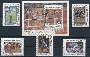 Summer Olympics, Los Angeles (II) set + block, Nyári olimpia, Los Angeles (II.) sor + blokk
