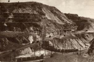 Rudabánya, Barnavasércbányászat Andrássy II nevű bánya része, iparvasút, csillék