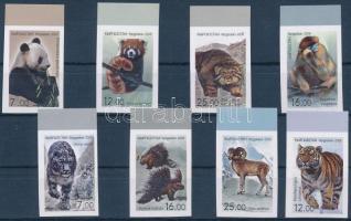 Wildlife of Asia imperforated margin set, ;Kirgizia;2008 Ázsia állatvilága ívszéli vágott sor