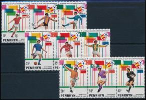 1981 Labdarúgás sor Mi 237-245