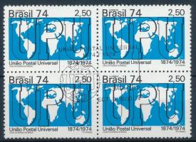 Centenary of UPU block of 4 100 éves az UPU négyestömb