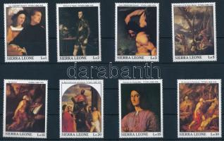 1988 Festmény sor Mi 1112-1119