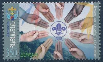 Europa CEPT scout, Europa CEPT: Cserkész
