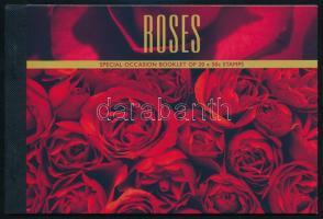 Red roses stamp-booklet, Vörös rózsák bélyegfüzet