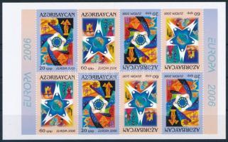 Europa CEPT: Integration stamp booklet sheet Europa CEPT: Integráció bélyegfüzet ív