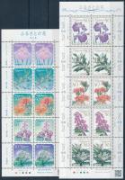 Flowres (VIII.) minisheet pair, Virágok (VIII.) kisívpár