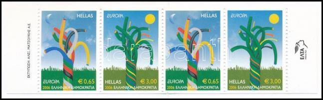 Europa CEPT bélyegfüzet, Europa CEPT stamp booklet
