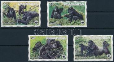 WWF Gorilla set, WWF: Hegyi gorilla sor