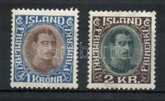 1931 X. Krisztián király Mi 165-166