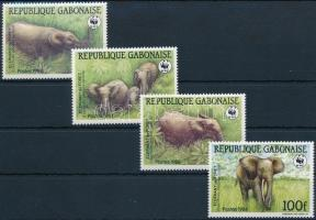WWF Forest elephant set, WWF: Erdei elefánt sor