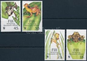 WWF Fiji tree frog set, WWF: Fidzsi-fa béka sor