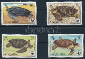 1983 WWF: Teknősök sor Mi 541-544