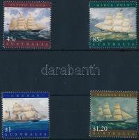 Sailing boats set, Vitorláshajók sor