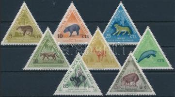 Indigenous mammalian animals set, Őshonos emlős állatok sor