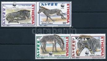 WWF: Grévy's zebra set, WWF: Grévy zebra sor