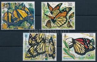 WWF Monarch butterfly set WWF: Pompás királylepke sor