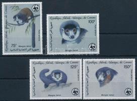 WWF: Mongoose lemur set, WWF: Hamvas maki sor