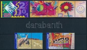 Greeting stamps set, Üdvözlőbélyegek sor