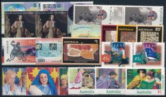 1992-1997 24 stamps, 1992-1997 24 klf bélyeg, közte sorok