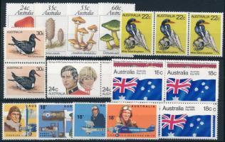 1978-1981, 1978-1981 22 db bélyeg, közte sorok, párok, négyestömb