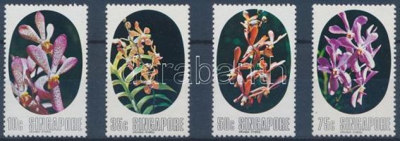 Orchids set, Orchideák sor