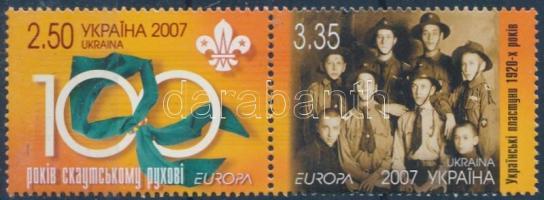 Euopa CEPT scout set in pairs, Europa CEPT cserkészet sor párban
