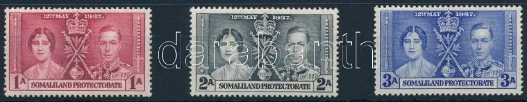 George VI. and Elizabeth's coronation set, VI. György és Erzsébet megkoronázása sor