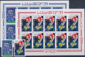 Europa CEPT set + minisheet set, 2006 Europa CEPT sor + kisívsor