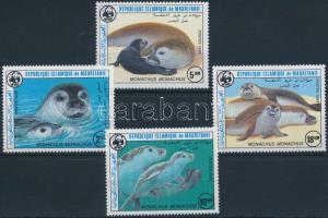 WWF: Mediterranean monk seal set, WWF: Mediterrán barátfóka sor