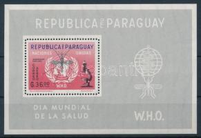 1962 Küzdelem a malária ellen blokk Mi 22