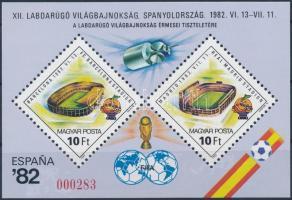 Football World Cup  present of the post, Labdarúgó világbajnokság ajándék blokk