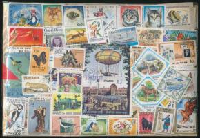 2.000 klf vegyes világ bélyeg ömlesztve