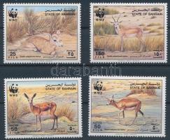 WWF Gazelles set, WWF Gazellák sor
