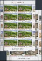 Europa CEPT Visit Moldova mini sheet pair, Europa CEPT Látogasson Moldáviába kisívpár