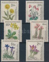 1960 Virágok sor Mi 1234-1239