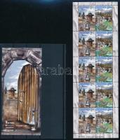 2012 Europa CEPT Látogasson Boszniába kisív + bélyegfüzet Mi 589-590