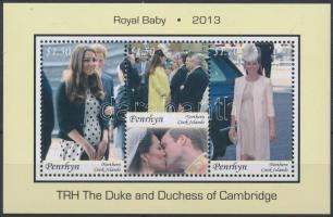 Royal Baby of Cambridge block, A Cambridge-i kis trónörökös blokk