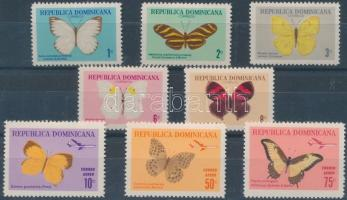1966 Lepkék sor Mi 868-875