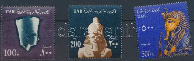 National symbols: Pharaohs set closing value, Nemzeti jelképek: fáraók sor záróértékei