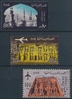 1963 Építészeti emlékművek Mi 180-182