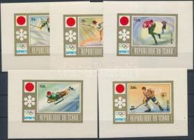 1972 Téli olimpia vágott blokksor Mi A 35-E 35