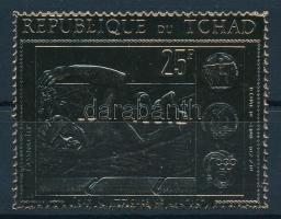 1971 Olimpia aranyfóliás bélyeg Mi 416 A