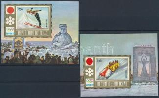 1972 Téli olimpia blokksor Mi 36-37 A